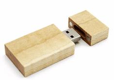 CTRL+C Pendrive eco wood KLON, 8 GB, USB 2.0
