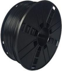Gembird tisková struna, flexibilní, 1,75mm, 1kg, černá (3DP-TPE1.75-01-BK)