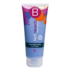 Berrywell Barevná maska na vlasy Farbrausch Tint Mask 201 ml, Kristall