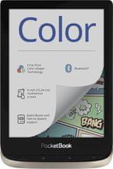 "PocketBook Color elektronski bralnik, 15.24 cm (6""), 16 GB, Wi-Fi, Bluetooth, srebrn"