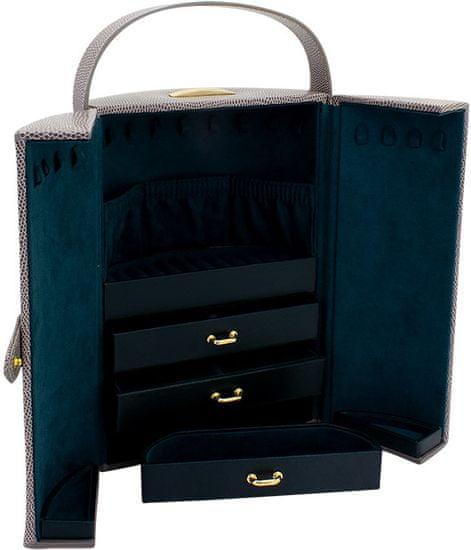 Friedrich Lederwaren Moderna usnjena škatla za nakit Milano 95907-90
