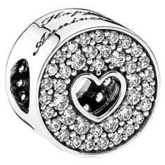 Pandora Stříbrný korálek Šťastné výročí 791977CZ stříbro 925/1000
