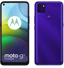 Motorola Moto G9 Power, 4GB/128GB, Electric Violet