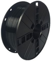 Gembird tisková struna, PLA+, 1,75mm, 1kg, černá (3DP-PLA+1.75-02-BK)