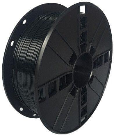 Gembird Nyomtatószál, PLA+, 1,75mm, 1kg, fekete (3DP-PLA.75-02-BK)