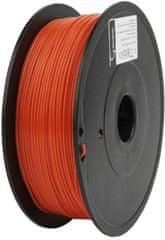 Gembird tisková struna, PLA+, 1,75mm, 1kg, červená (3DP-PLA+1.75-02-R)