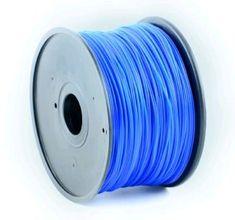 Gembird tisková struna, ABS, 1,75mm, 1kg, modrá (3DP-ABS1.75-01-B)