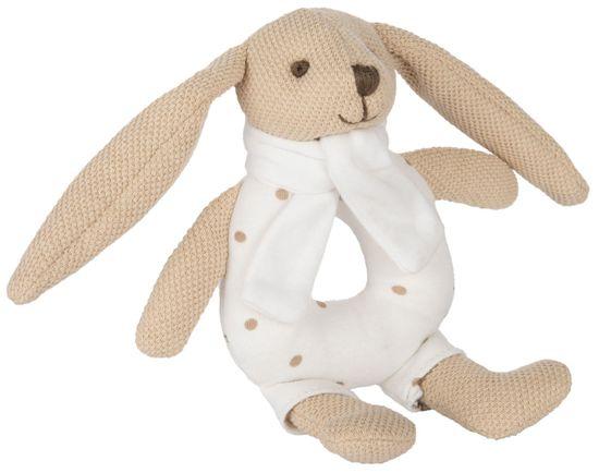 Canpol babies zajączek Bunny z grzechotką beżowy