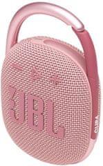 JBL Clip 4, světle růžová