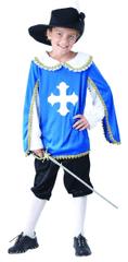MaDe Šaty na karneval - mušketier 110 - 122