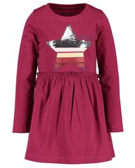 Blue Seven dekliška obleka, 122, rdeča