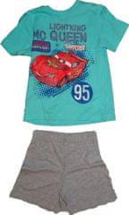 MARVEL Chlapecké sv.modré pyžamo s krátkým rukávem s autem Cars. , 94