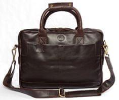 LEA&THER Pánská kožená taška, Elegant Business