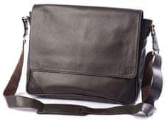 LEA&THER Pánská kožená taška, Messenger