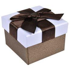 Jan KOS Rjava škatla za uhane ali prstan AP-2 / A21