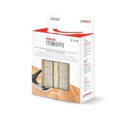 Polti Moppy Kit, 2 krpi iz mikrovlaken za občutljive površine, les in parket
