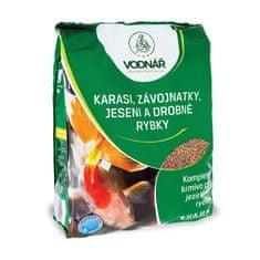 Vodnář Karasi, závojnatky, jeseni a jiné drobné rybky 0,5kg