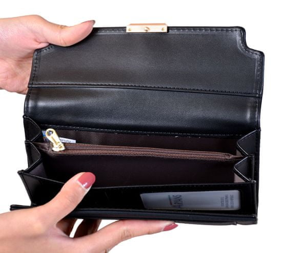 Aaryans Dámská peněženka PT19-1399 černá