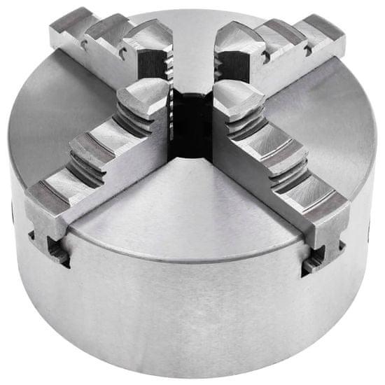 shumee Stružna glava s 4 čeljustmi in samo-centriranjem 125 mm jeklo