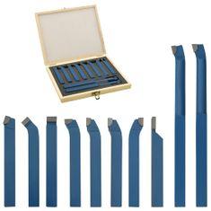 shumee 11-delni komplet karbidnega orodja za struženje 10x10 mm P30