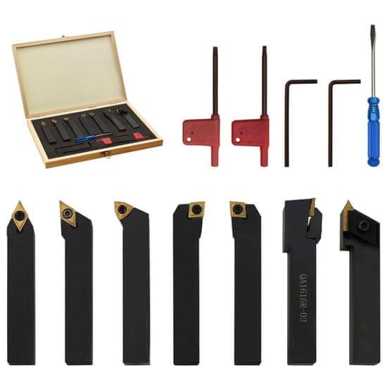 shumee 12-delni komplet indeksacijskega orodja za struženje 16x16 mm