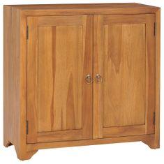 shumee Skříňka 70 x 30 x 70 cm masivní teakové dřevo