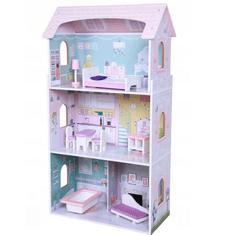 Derrson XL drevený domček pre bábiky Sweet House