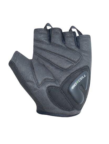CHIBA Cyklistické rukavice pro dospělé BioXCell Pro šedé