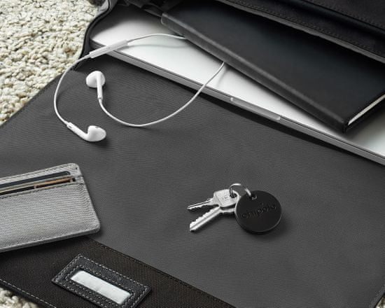 Chipolo ONE Bluetooth iskalnik predmetov (Črna)