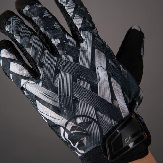 CHIBA Cyklistické rukavice pro dospělé Elements Youth šedé
