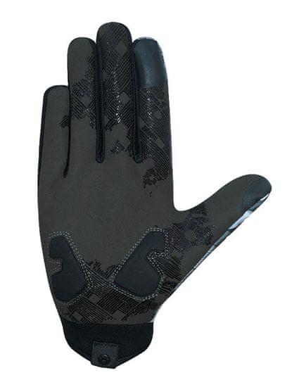 CHIBA Cyklistické rukavice pro dospělé Elements šedé