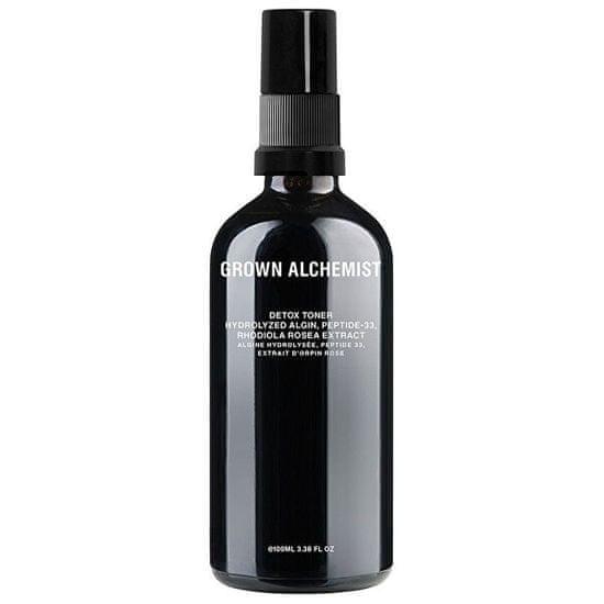 Grown Alchemist Detoxikační tonikum Hydrolyzed alginát, Peptide - 33, Rhodiola Rosea Extract (Detox Toner) 100 ml