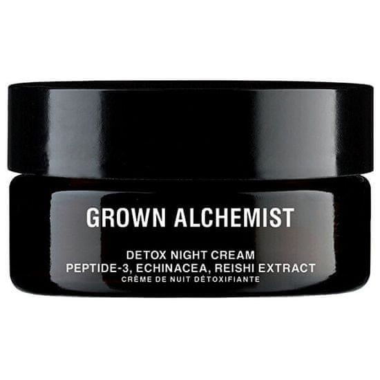 Grown Alchemist Detoxikační nočný pleťový krém Peptide-3, Echinacea, Reishi Extract (Detox Facial Night Cream) 40 ml