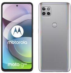 MOTOROLA smartfon G 5G, 6GB/128GB, Frosted Silver