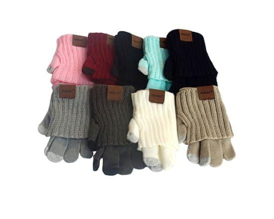 ORSI Zimní dětské rukavice tmavě šedé