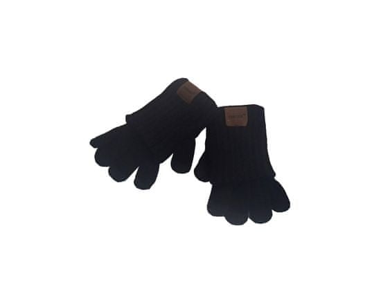 ORSI Zimní dětské rukavice černé
