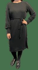 ICHI dámské šaty IHYOSE DR_1 L černá