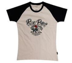 Rusty Pistons tričko RPTSW38 Ona beige/black vel. M