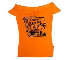 Rusty Pistons tričko RPTSW55 Hawaii mustard vel. S