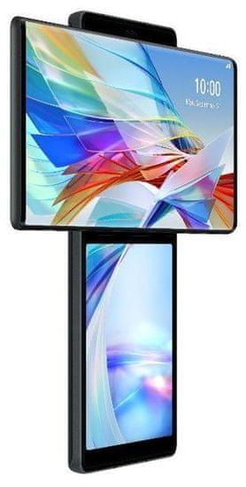 LG Wing mobilni telefon, 128GB/8GB, siv