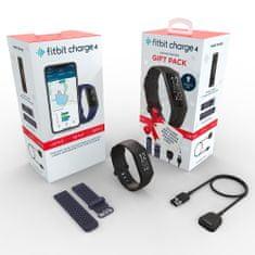 Fitbit Charge 4 (NFC), Black + druhý řemínek a nabíječka