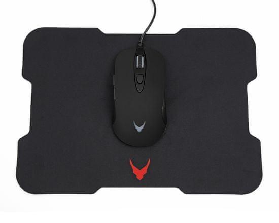 Omega VSETMPX6 Pro Gaming optički miš, 6 tipki + Gaming podloga za miš