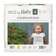 ECO by Naty Plenky 4 Maxi (7-18 kg) 26 ks