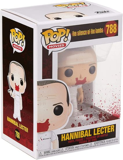 Funko POP Movies The Silence of the Lambs Hannibal (Bloody) figura