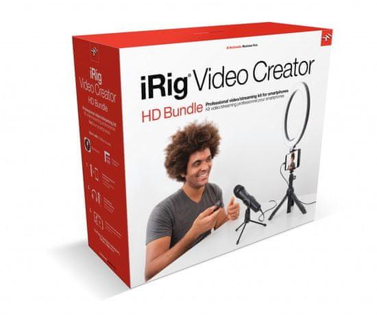 IK Multimedia iRig Mic Video Creator HD Bundle