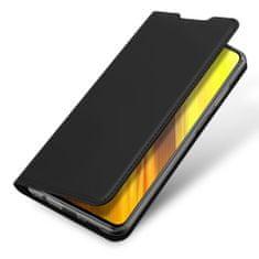 Dux Ducis Skin Pro knjižni usnjeni ovitek za Xiaomi Poco M3 / Redmi 9T, črna