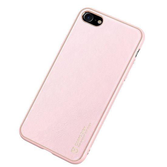 Dux Ducis Yolo usnje ovitek za iPhone 7/8/SE 2020, roza