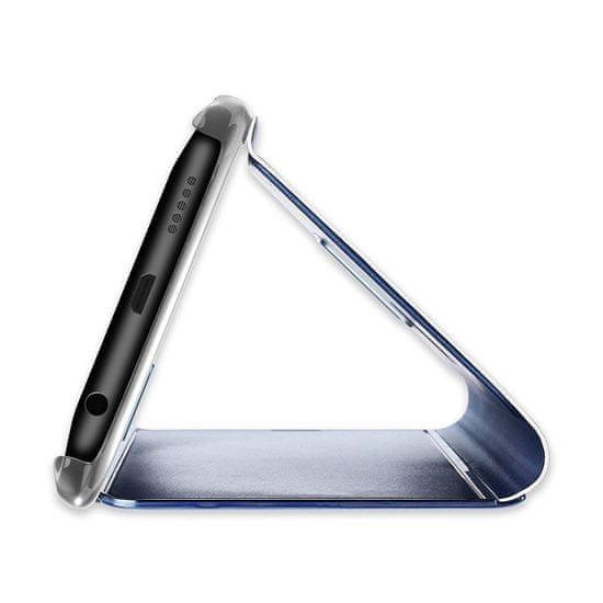 MG Clear View knjižni ovitek za Samsung Galaxy A20s, modro