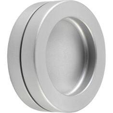 KWS Mušlové madlo pro posuvné dveře ø 65 mm, samolepící, hliník