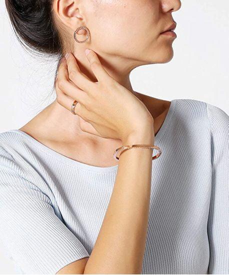 Calvin Klein Svetleči jekleni uhani KJ06ME040200